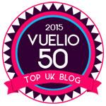 Vuelio Top 50 UK blogs 2015