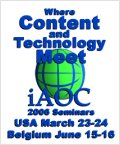 iaoc seminars - usa & belgium, march & june 2006