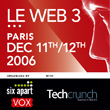 Le Web 3 - Paris, Dec 11-12, 2006
