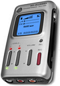 Microtrack 24/96 portable audio recorder