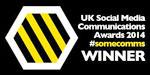 UK Social Media Awards 2014 Winner