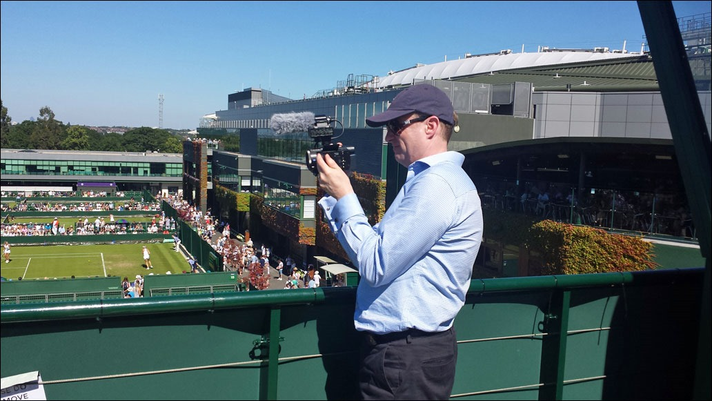 2015 Wimbledon - Andrew Grill