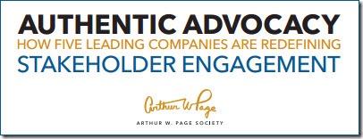 Authentic Advocacy