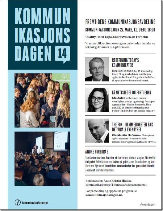 Kommunikasjonsdagen 2014