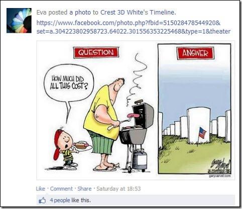 crest memorial day cartoon way off the mark