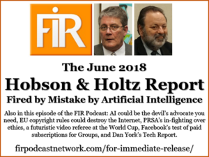 FIR 143 The Hobson & Holtz Report