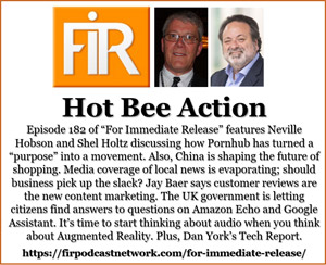 FIR 182: Hot Bee Action • Neville Hobson