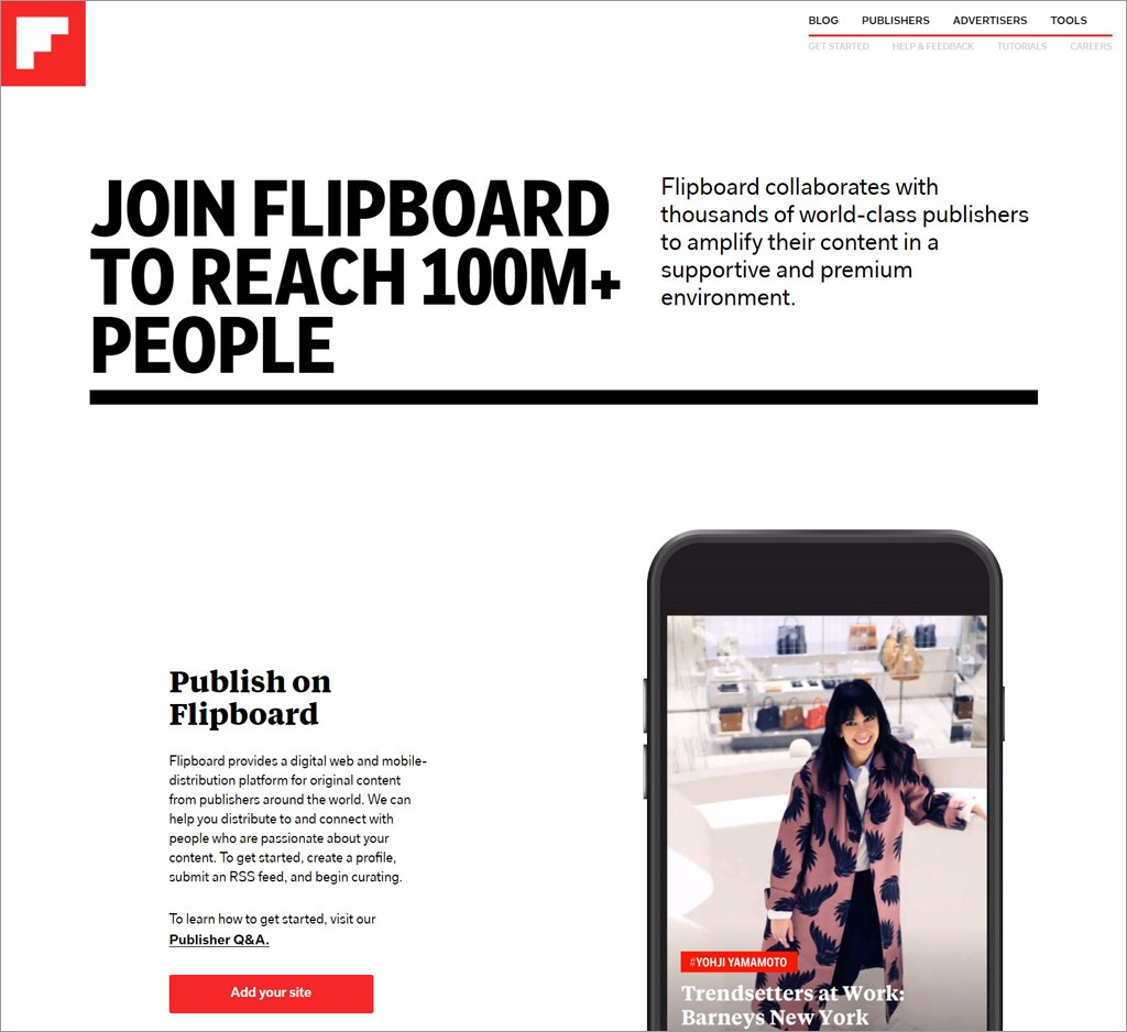 Flipboard Publishers