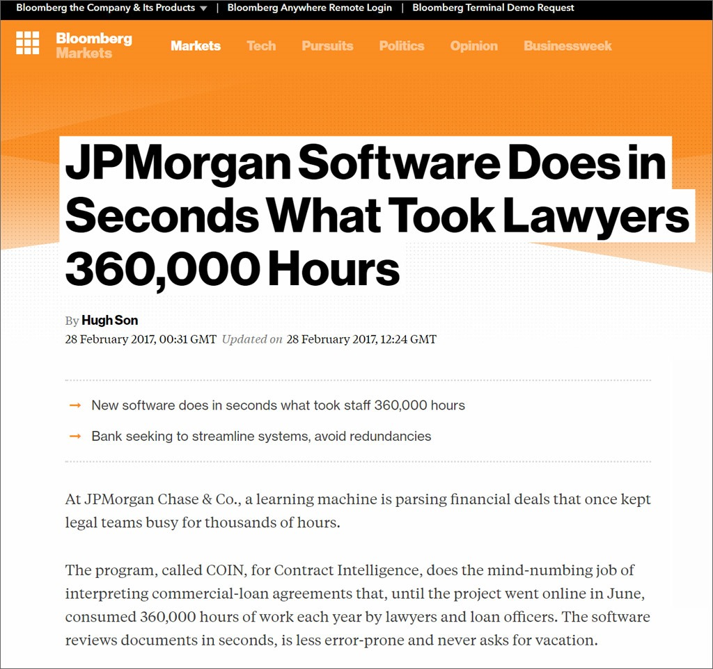 JP Morgan software
