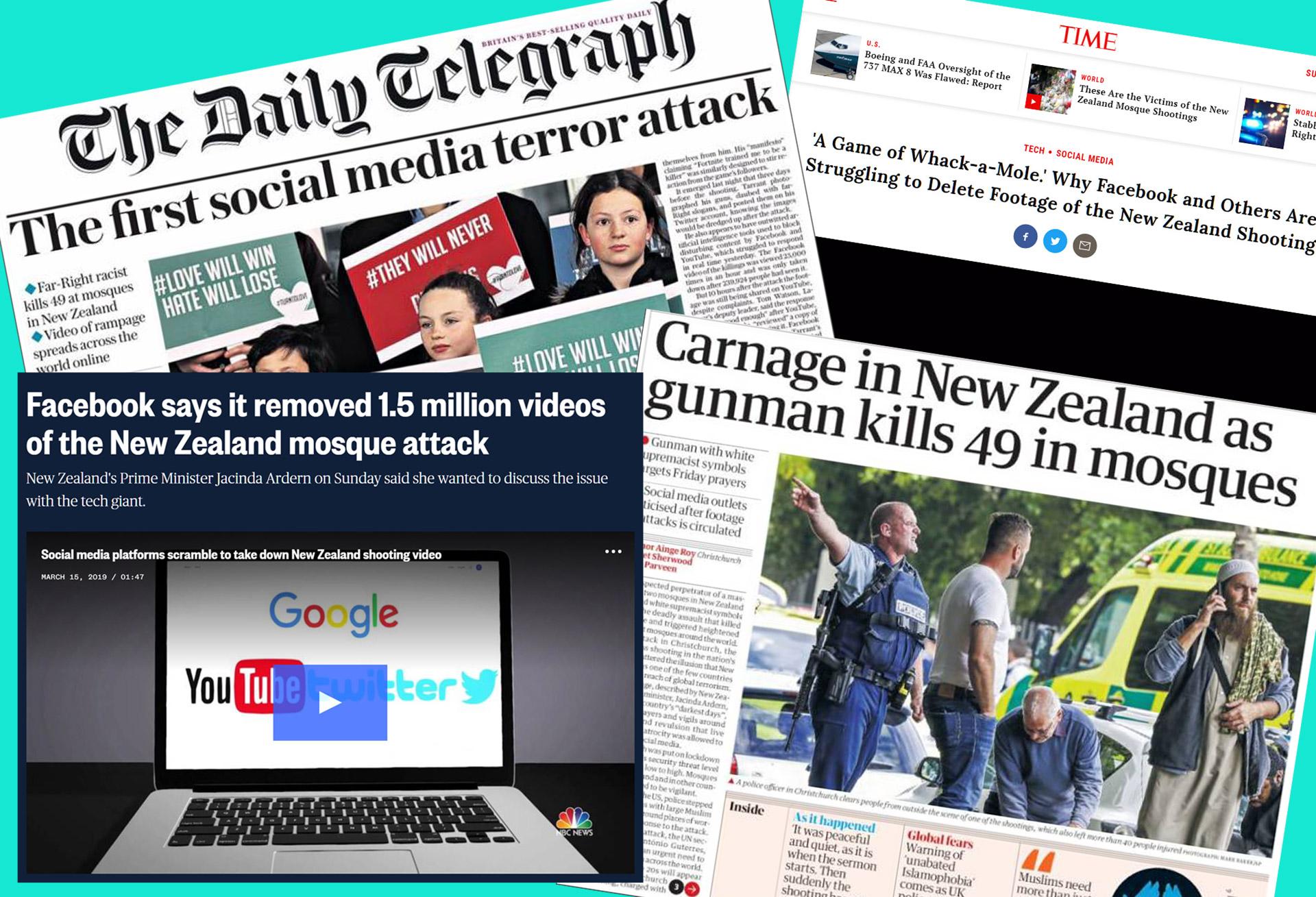 Christchurch social media