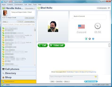 Skype 4 скачать бесплатно - фото 5