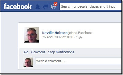 Neville Hobson joined Facebook