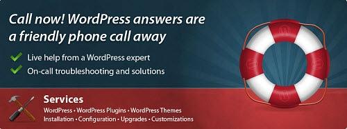 WordPress support a phone call away • Neville Hobson